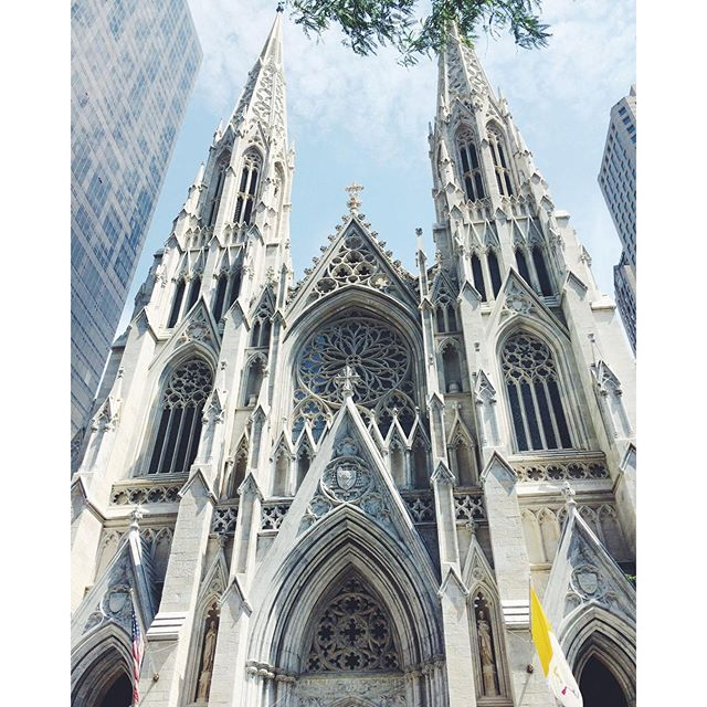 st patricks cathedral new york city