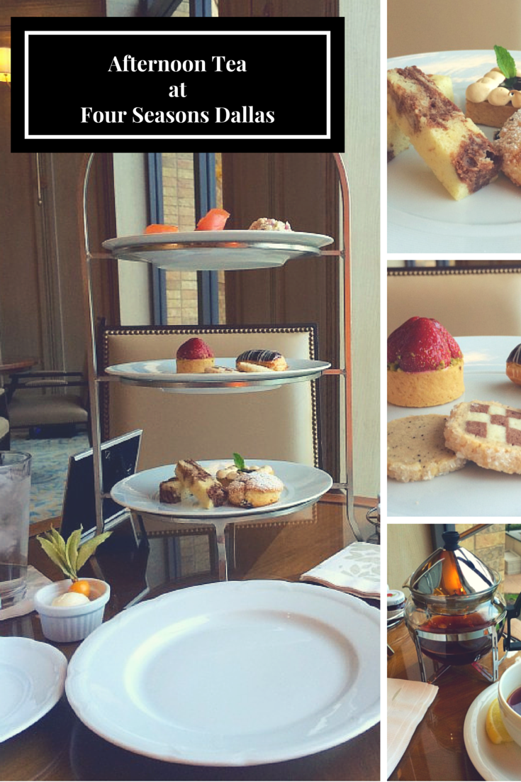 Afternoon Tea at Four Seasons Resort and Club Dallas at Las Colinas