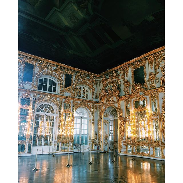 #ThrowbackThursday: Gold Walls at Catherine Palace