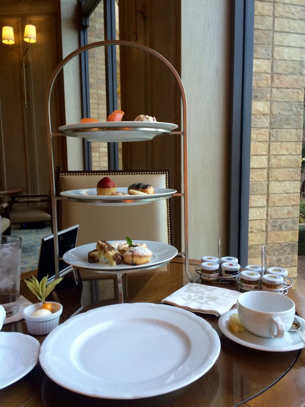 afternoon tea at four seasons dallas