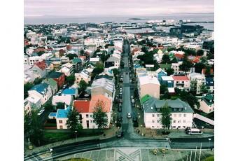 #ThrowbackThursday: View of Reykjavik
