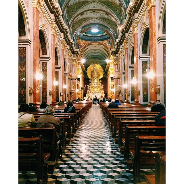 ThrowbackThursday: Cathedral in Salta Argentina