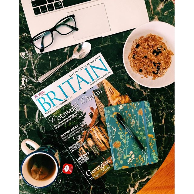 Workspace: Oatmeal and Britain Magazine