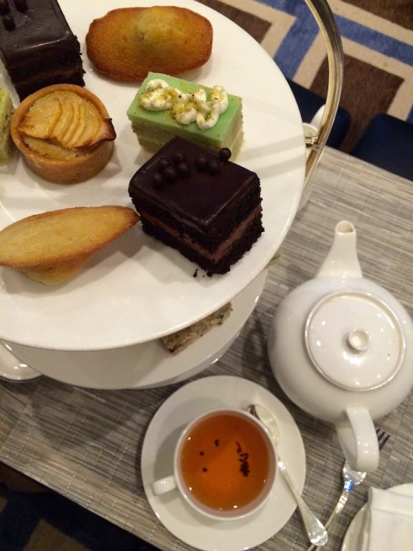afternoon tea at the peninsula new york