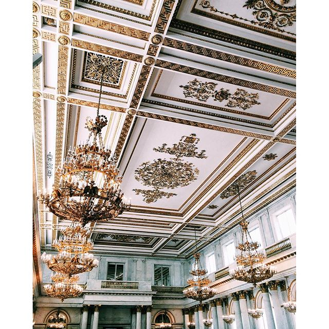 #ThrowbackThursday: Hermitage Museum Ceiling
