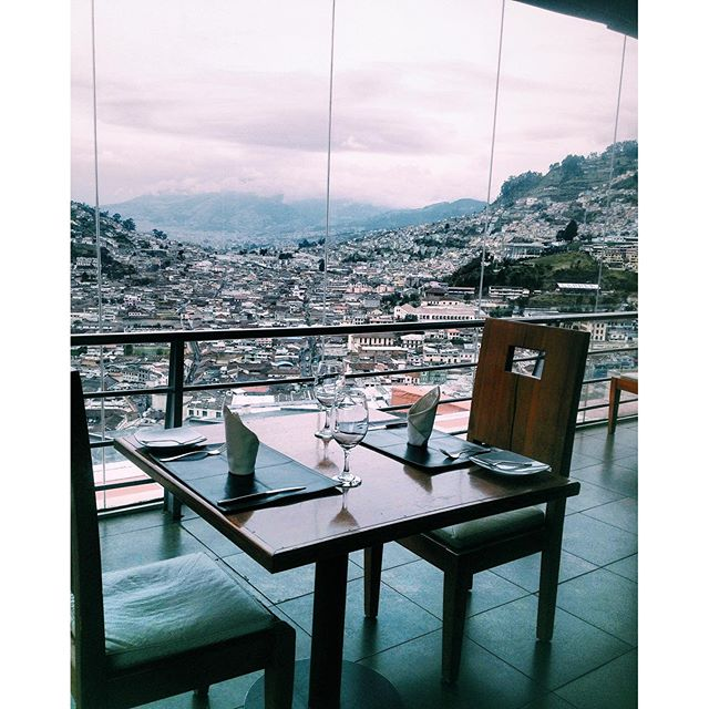 #ThrowbackThursday: El Ventanal Restaurant in Quito