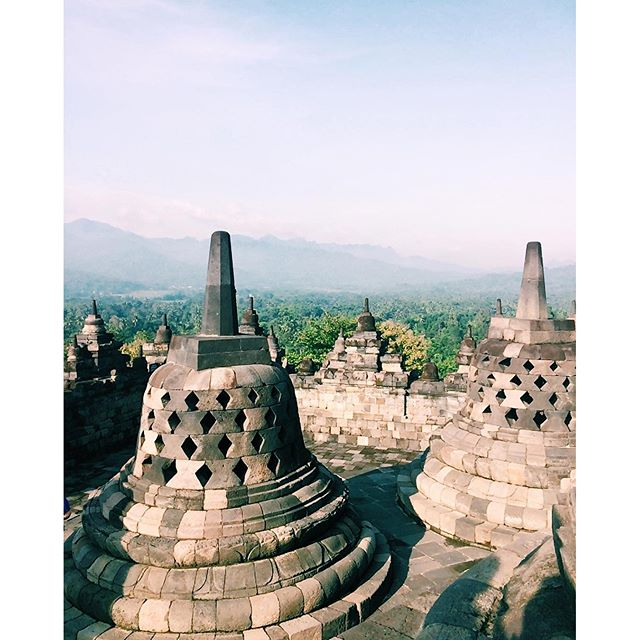 #ThrowbackThursday: UNESCO World Heritage Site… Borobudur Indonesia
