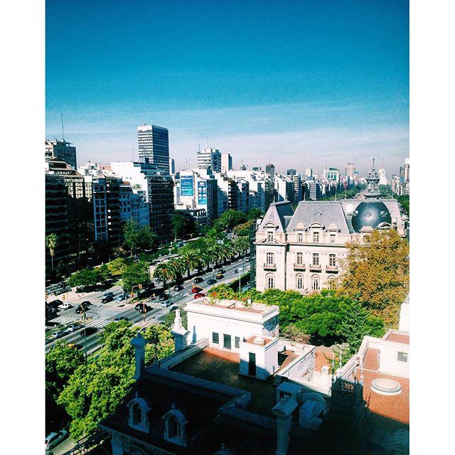 #ThrowbackThursday: Avenida 9 de Julio Buenos Aires