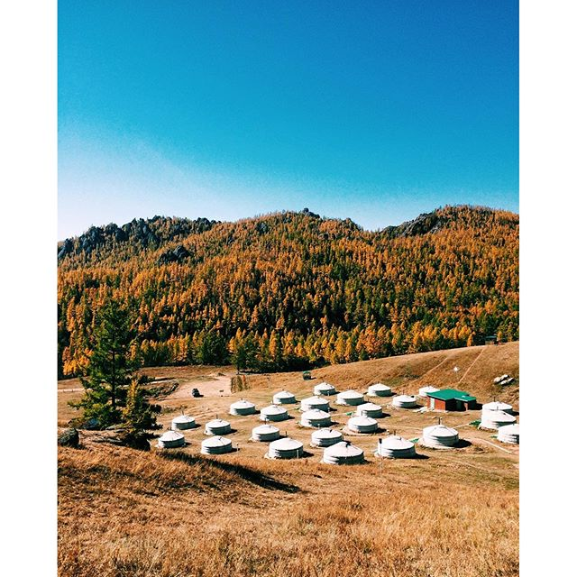 Photo of the Day: Mongolian Ger Camp