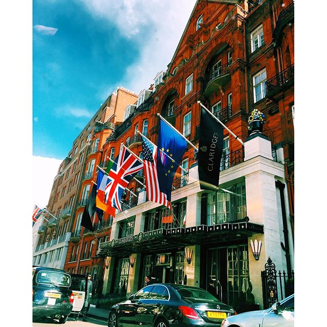 Photo of the Day: Claridge's Hotel in Mayfair London