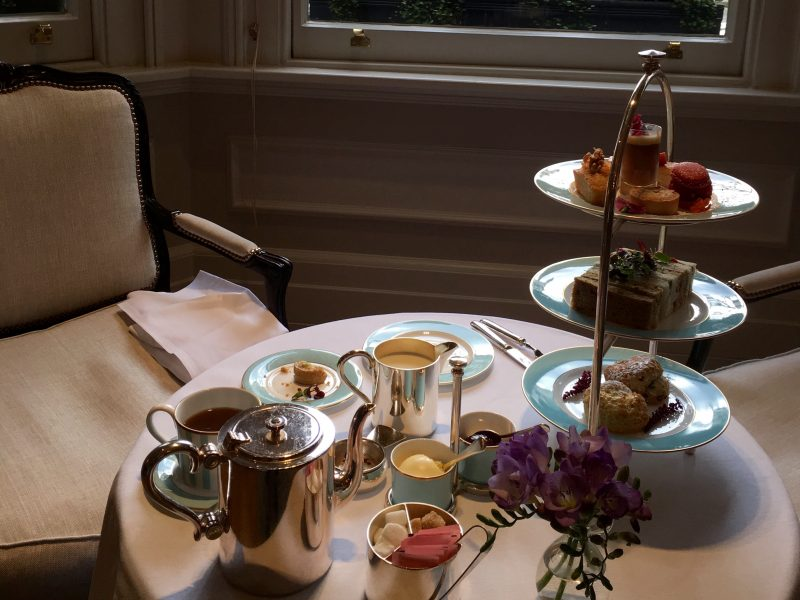 Afternoon Tea At The Kensington Hotel London Bethany Looi
