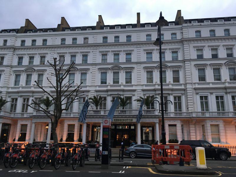afternoon tea at the kensington hotel london