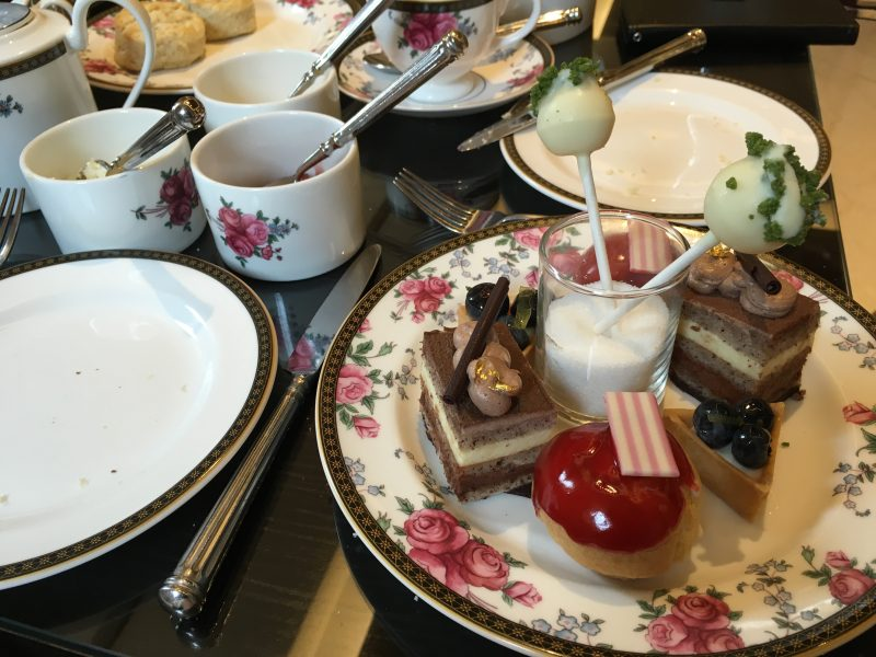 afternoon tea at the langham boston