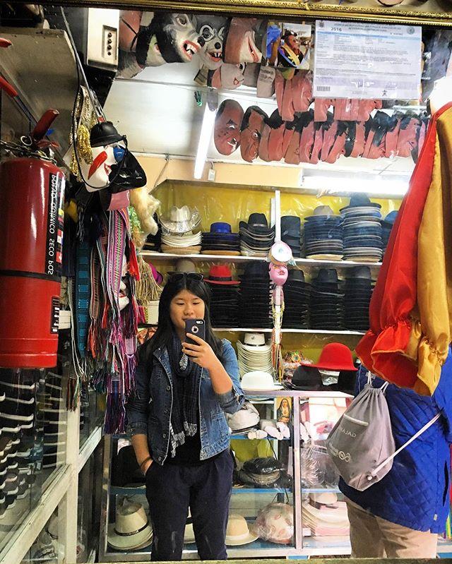 me at a hat shop metropolitan touring