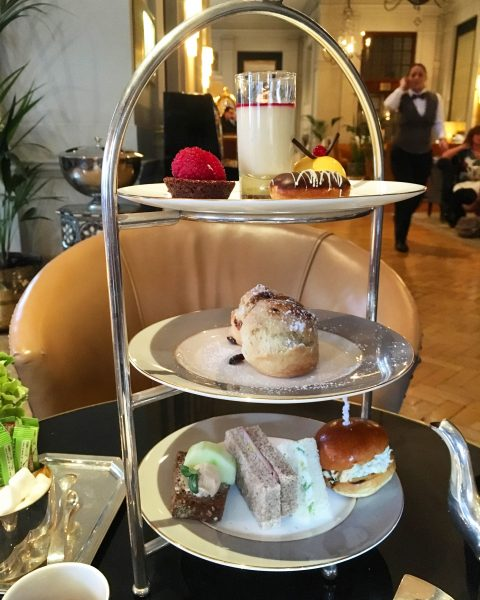 afternoon tea at the bloomsbury
