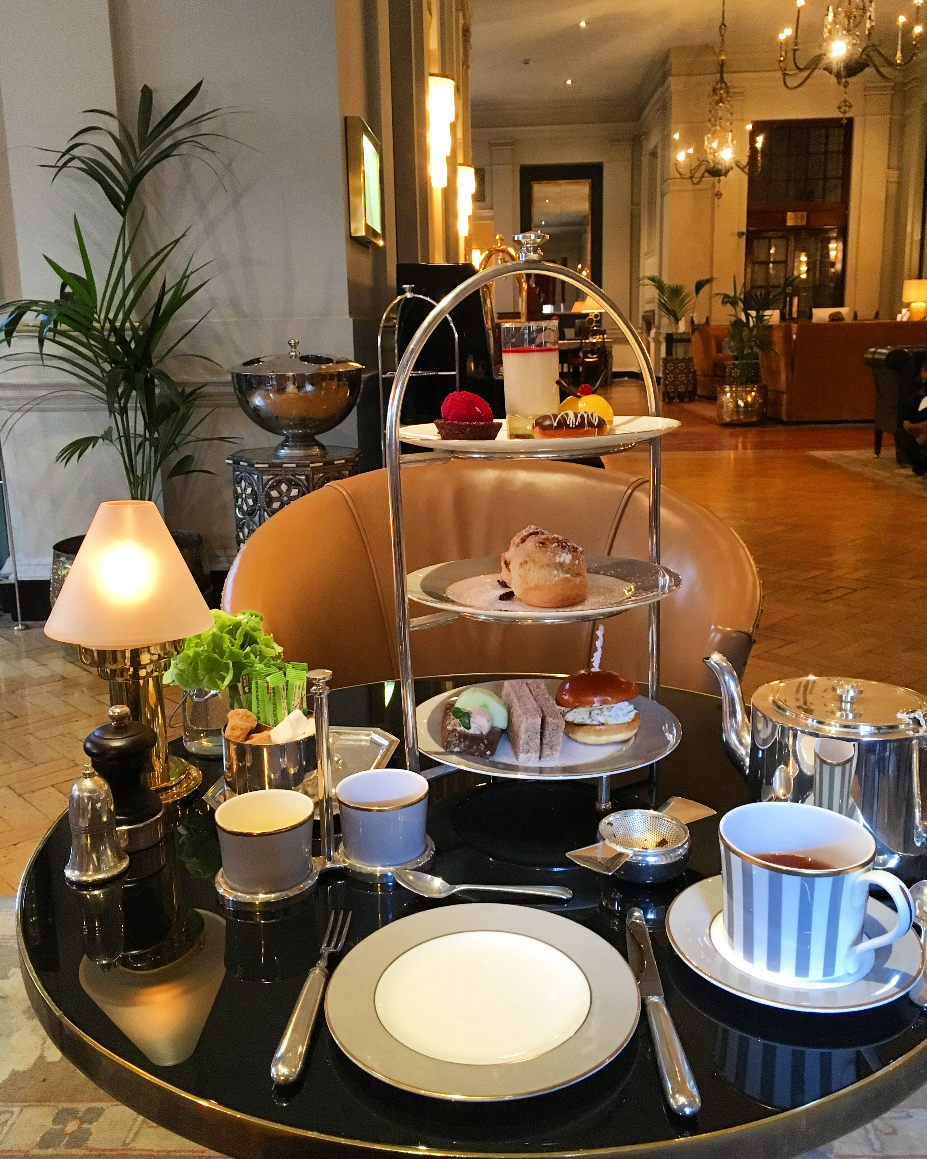 Afternoon Tea at The Bloomsbury Hotel, London