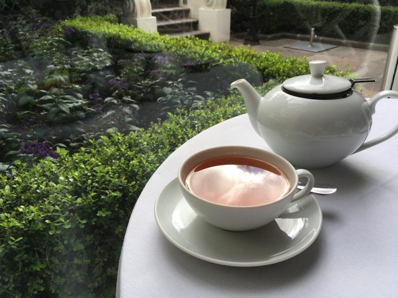 afternoon tea at casa gangotena