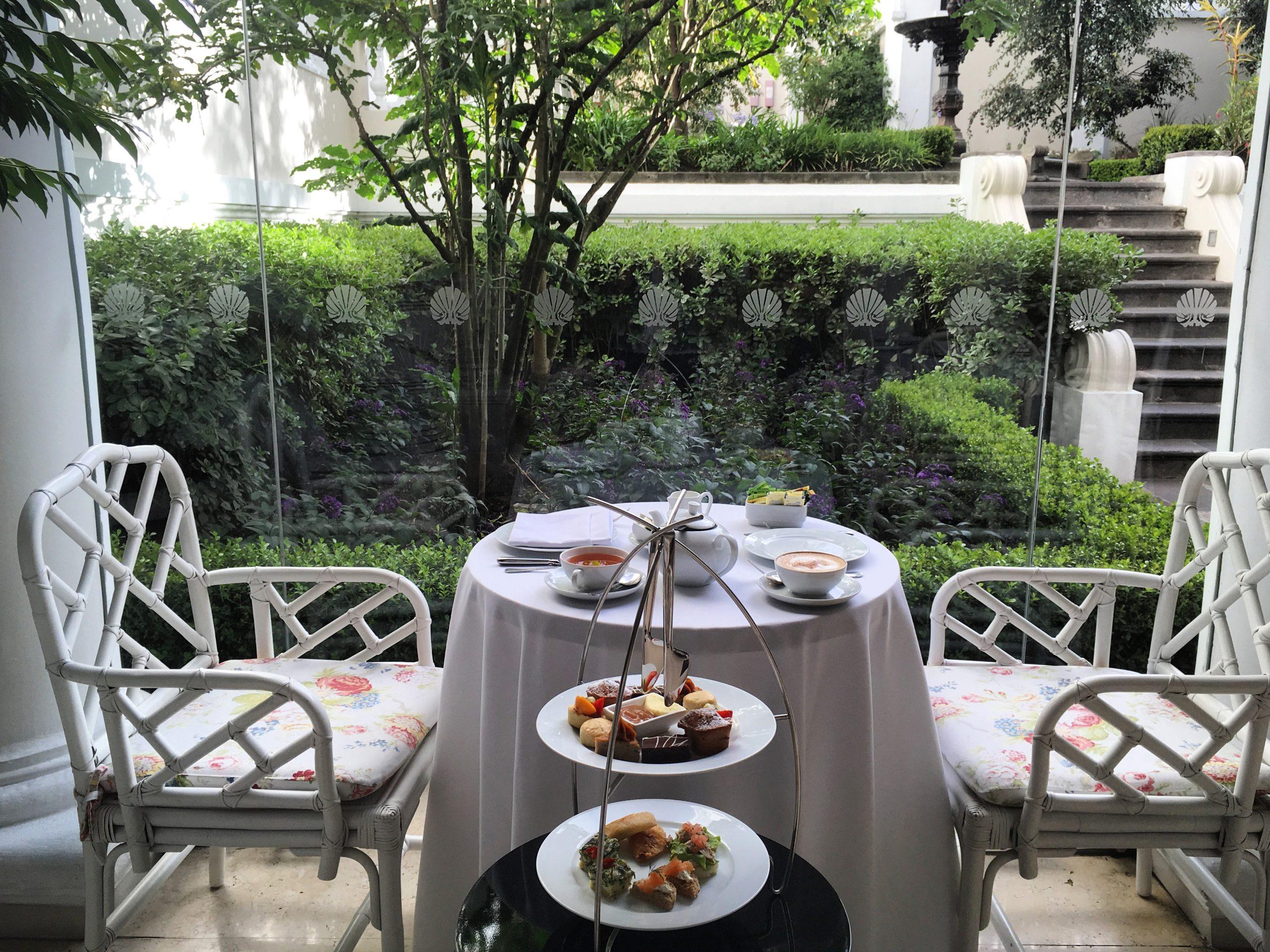 Afternoon Tea at Casa Gangotena, Quito