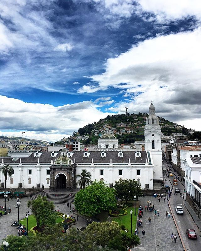 #ThrowbackThursday: Quito from Plaza Grande Hotel