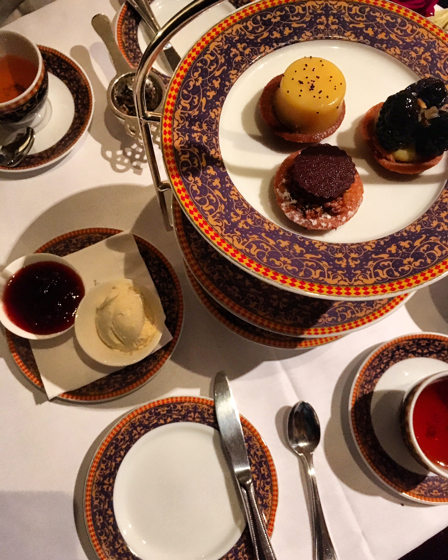 Afternoon Tea at The Carlyle, A Rosewood Hotel
