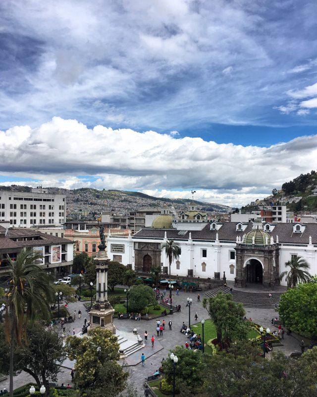 plaza independencia quito