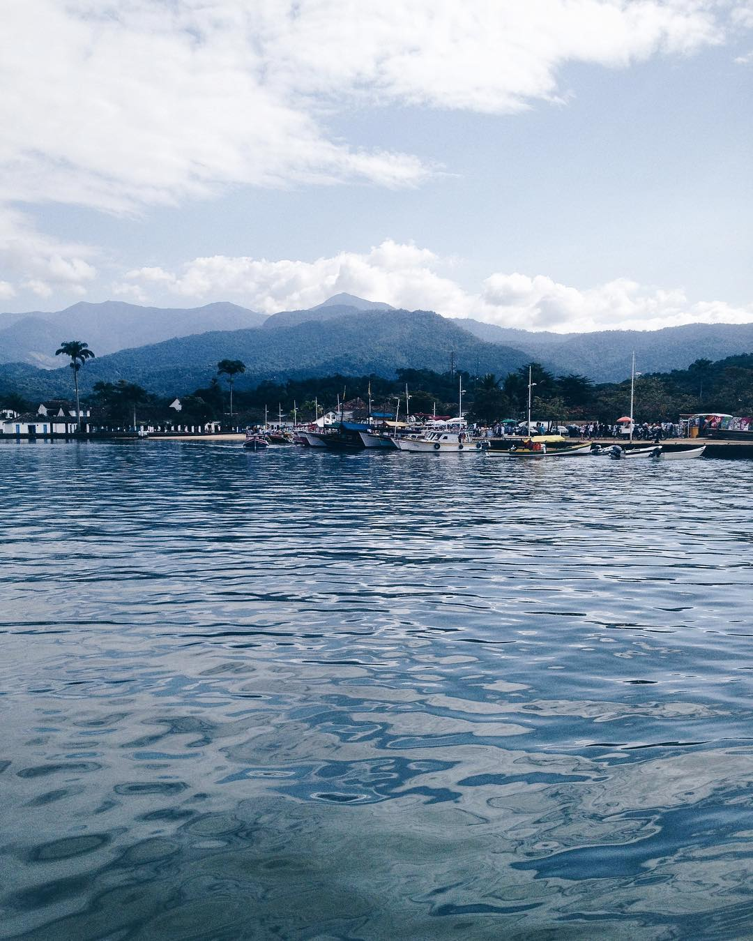 Photo of the Day: Mountains and Water at Paraty Brazil