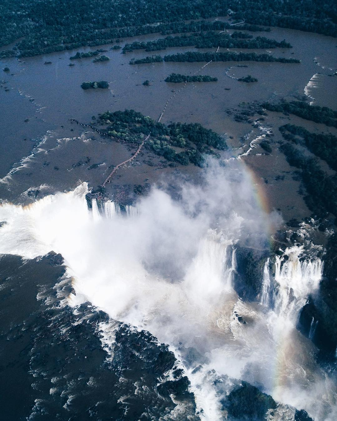 #ThrowbackThursday: Helicopter Ride Over the Iguazu Falls