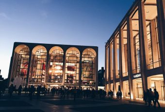 Photo of the Day: At Lincoln Center to Hear Lang Lang
