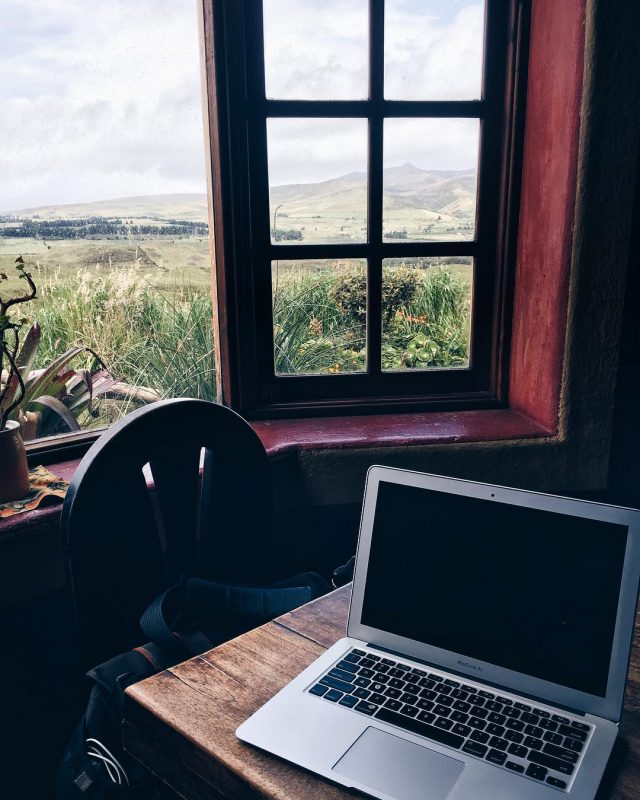 cotopaxi view workspace