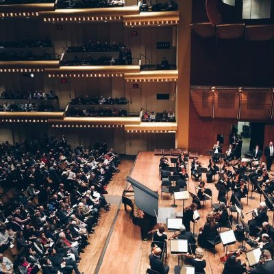 Photo of the Day: At the New York Philharmonic