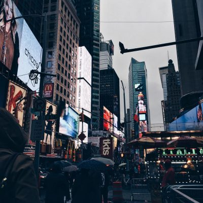 Photo of the Day: Rainy Day Times Square