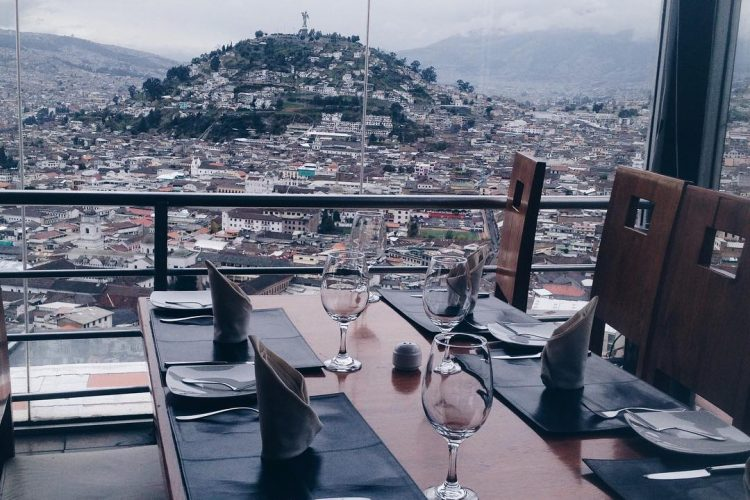 Photo of the Day: Quito's Landmark View from a Restaurant