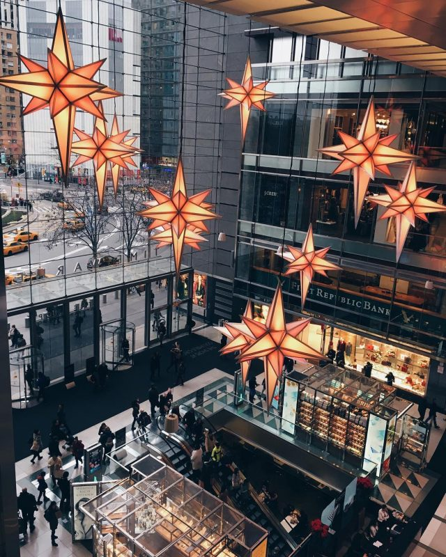 columbus circle time warner mall