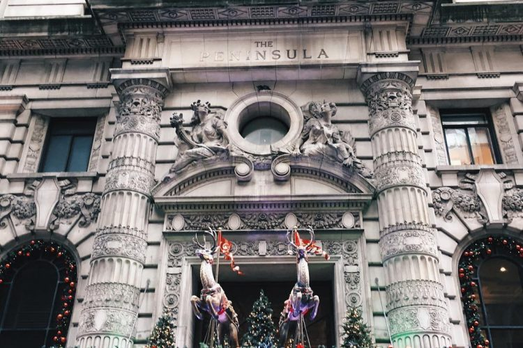 Photo of the Day: The Peninsula New York's Holiday Decor