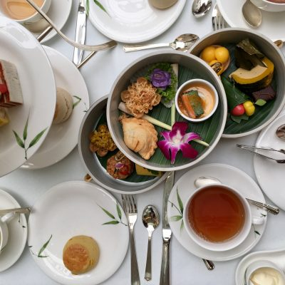 Afternoon Tea at Mandarin Oriental Bangkok