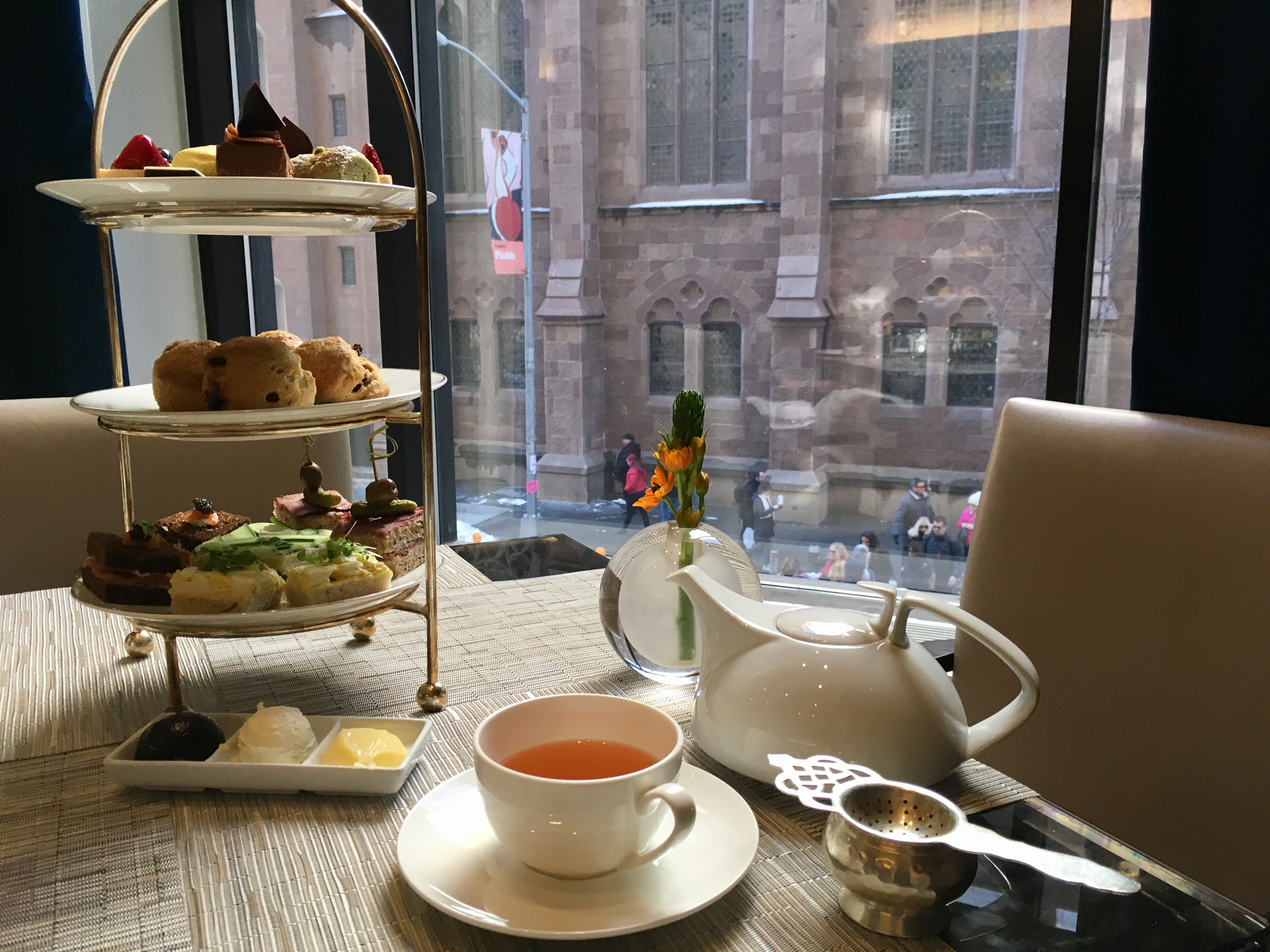 Peninsula Hotel New York Afternoon Tea