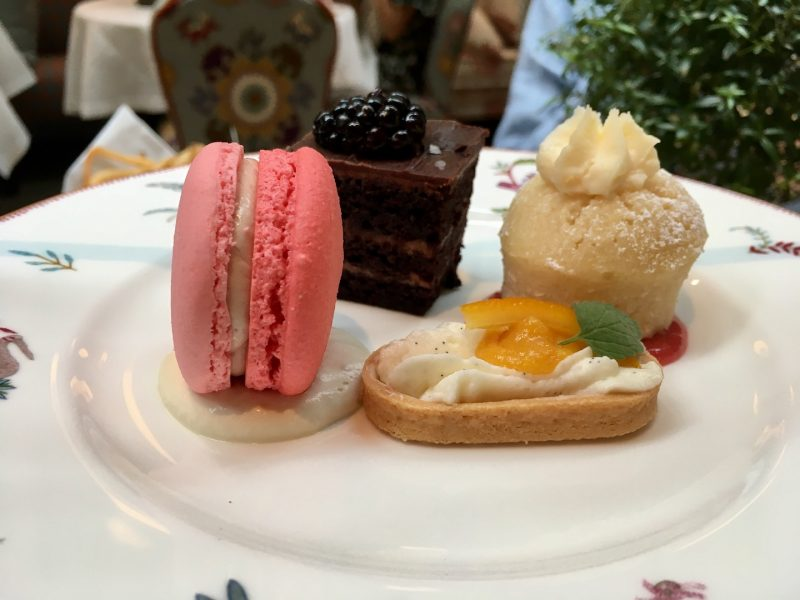 Afternoon Tea at The Whitby Desserts