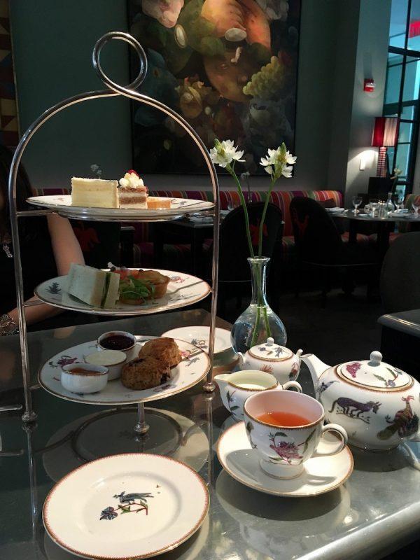 afternoon tea at crosby street hotel