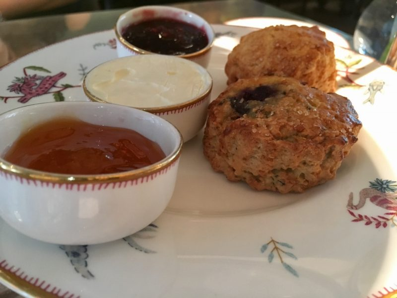 scones at crosby street hotel