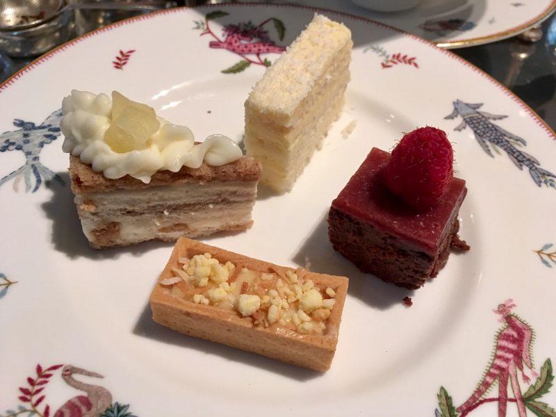 desserts at crosby street hotel