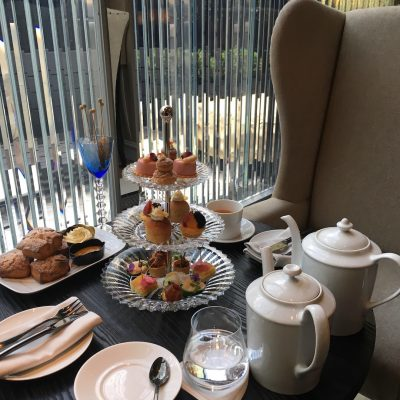 Afternoon Tea at Baccarat Hotel New York