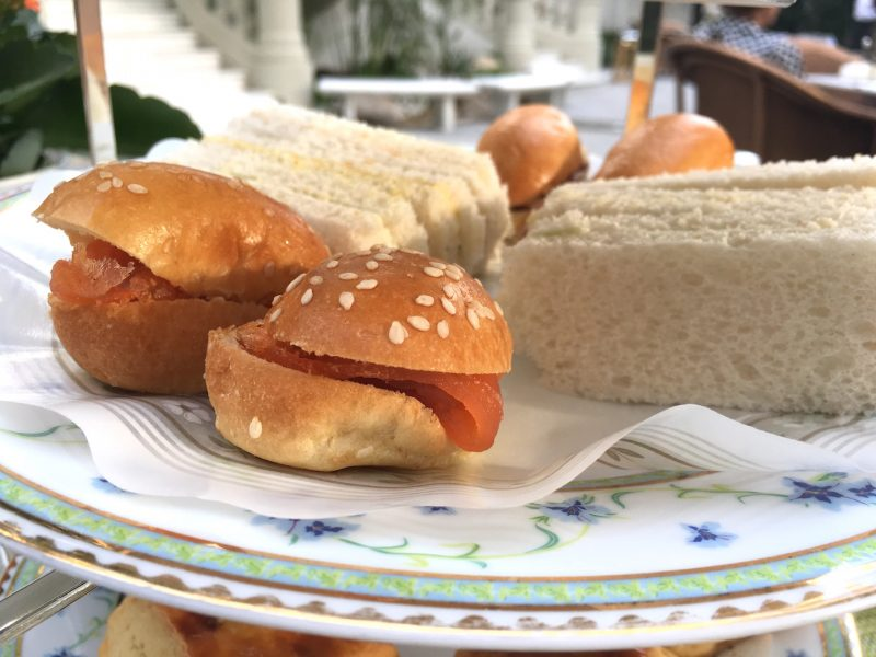 savories sandwiches ritz madrid