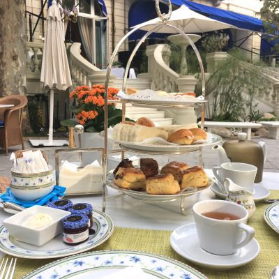Afternoon Tea at Hotel Ritz Madrid, Spain
