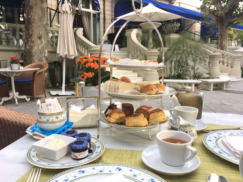 afternoon tea at the ritz madrid