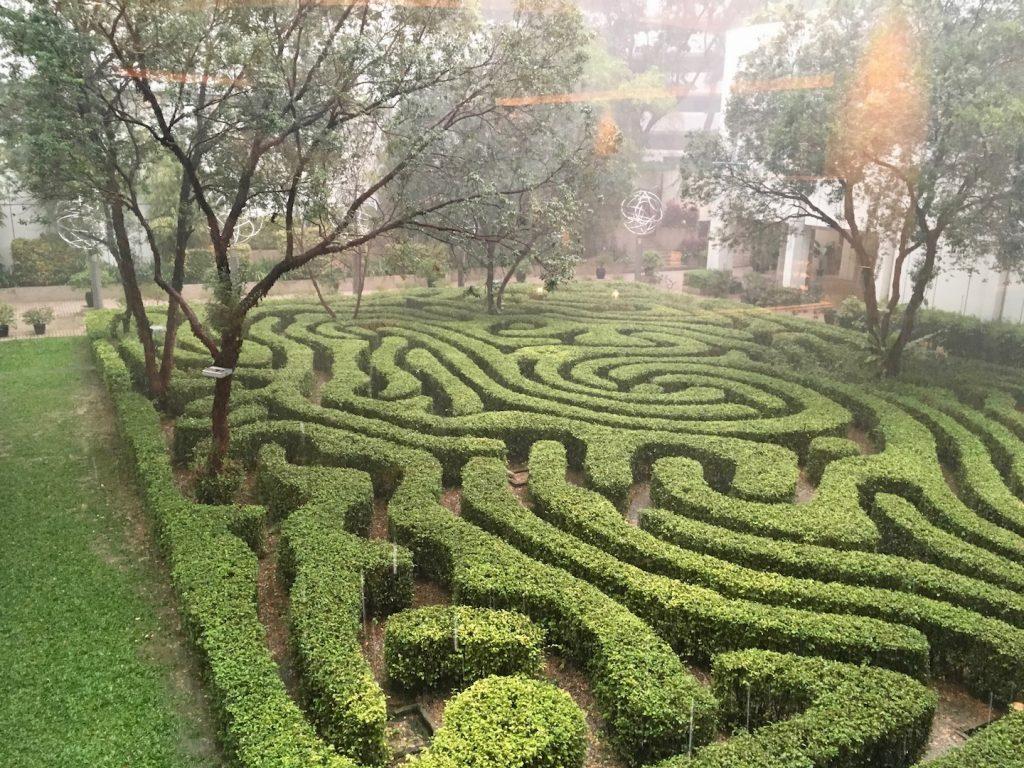 shangri-la kuala lumpur garden maze