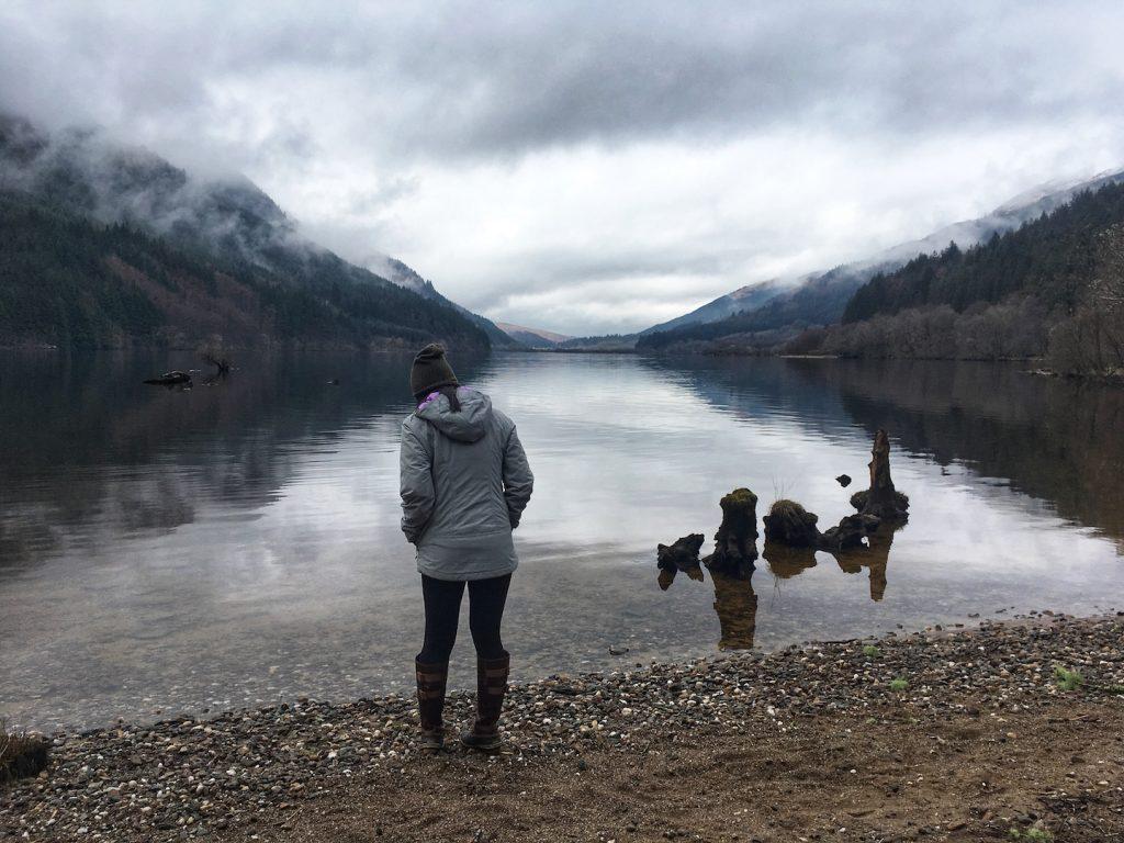 Loch Eck Highlands Scotland