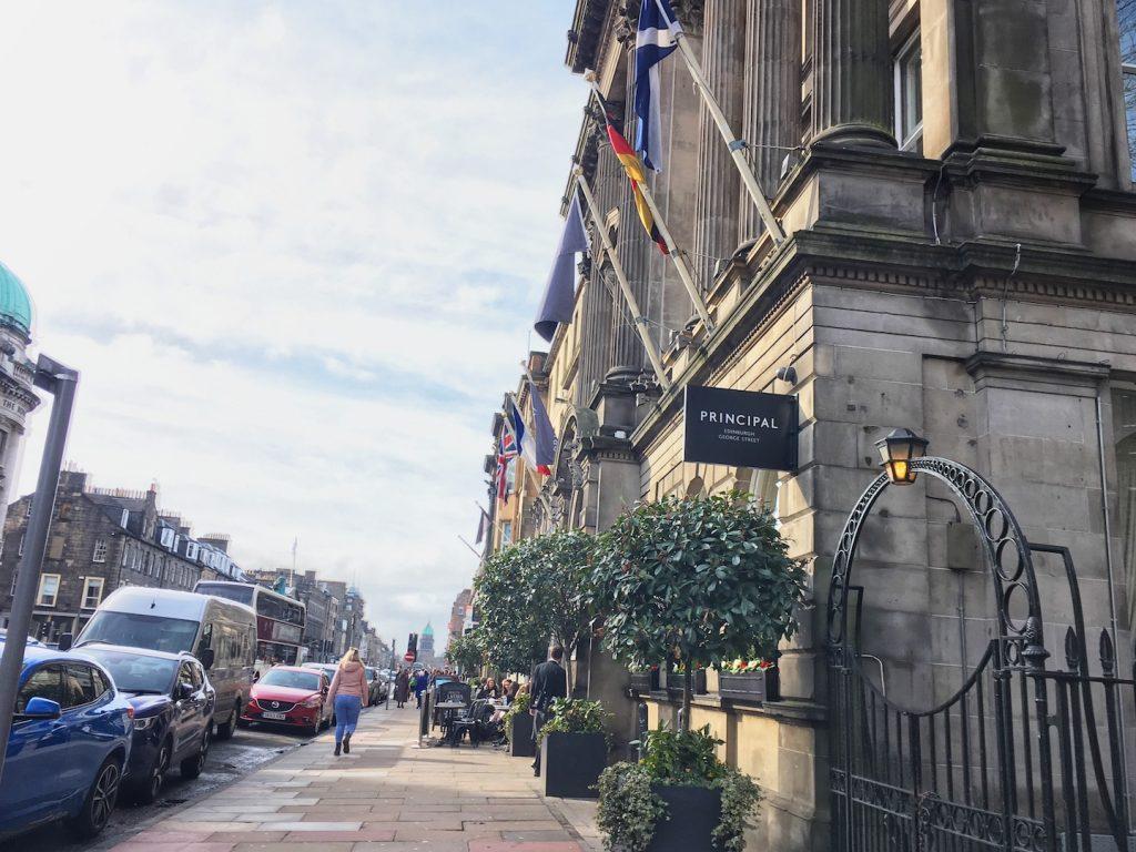 Principal Hotel George Street Edinburgh