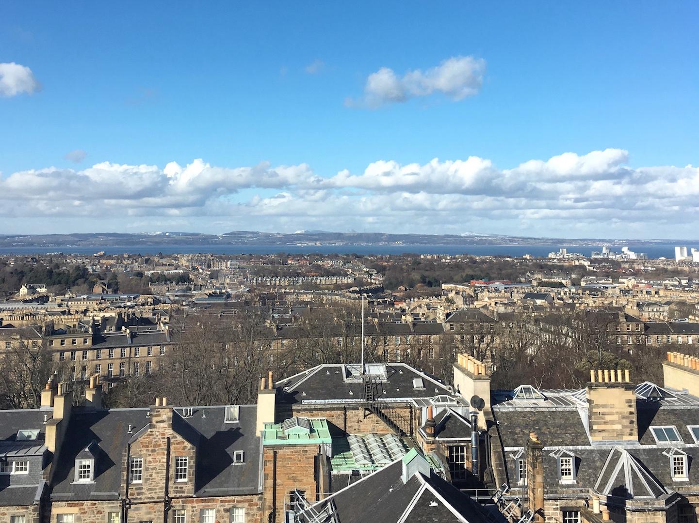 Principal Hotel George Street Edinburgh view