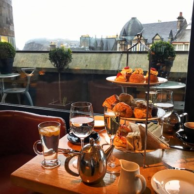 Afternoon Tea at the National Museum of Scotland, The Tower Restaurant