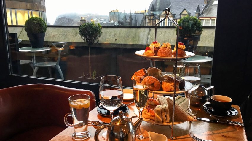 The Tower Resturant scotland afternoon tea